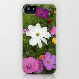 flower garden II iPhone Case
