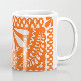 Fiesta de Flores Orange Coffee Mug