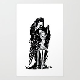 The Gentlebird Art Print