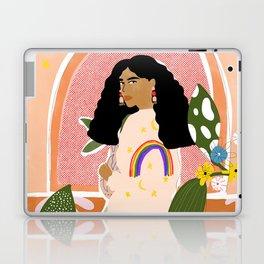 Rainbow Sweater Laptop & iPad Skin
