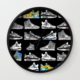 Seek the Sneakers Wall Clock