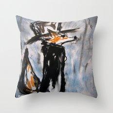 Dandy Fox Throw Pillow