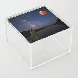 Super Blood Wolf Moon Acrylic Box