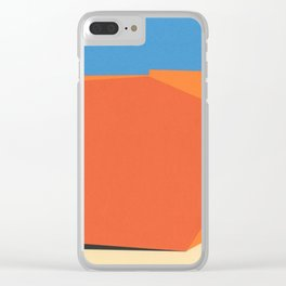 Covered Skip Container Clear iPhone Case