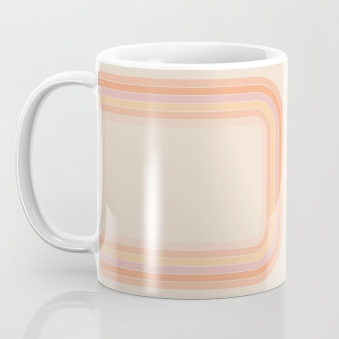 Tangerine Tunnel Coffee Mug