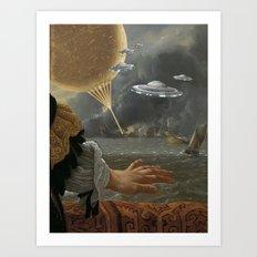 BIG SHIPS Art Print