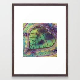 Bodhi Leaf Framed Art Print