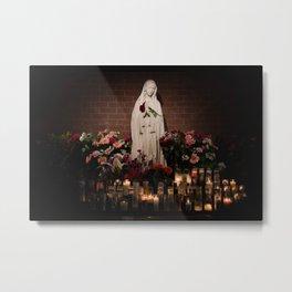 Hail Mary Metal Print