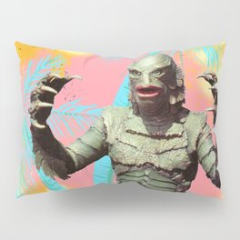 Creature of the pastel lagoon Pillow Sham