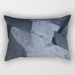 Structural element from ancient greece architecture Rectangular Pillow