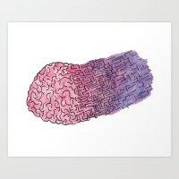 BrainPuzzle Art Print