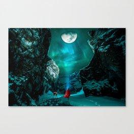 little Red Riding Hood l Caperucita roja Canvas Print