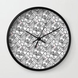 Leaf 2 Wall Clock