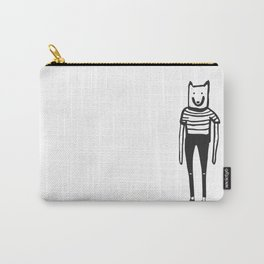 Wolfie and the gang. Minus the gang. Carry-All Pouch