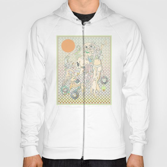 decay, cream & color  Hoody