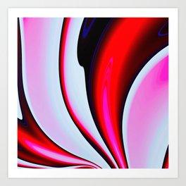 Abstract Fractal Colorways 02BPk Art Print
