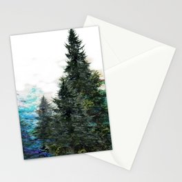 GREEN MOUNTAIN PINES LANDSCAPE Stationery Cards