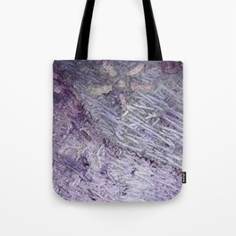 Purple-Starfish Tote Bag