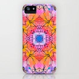 Lace pattern design Vector decorative banner iPhone Case