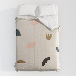 Modern Abstract Art Pattern 4 Comforters