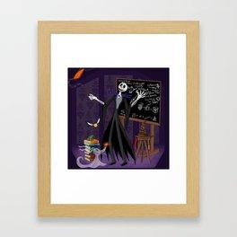 Nightmare at Hogwarts Framed Art Print
