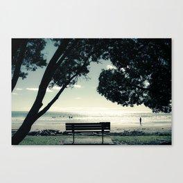 West End Swim Canvas Print