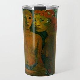 "Paul Gauguin ""Barbarian Tales (Contes barbares)"" Travel Mug"