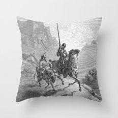 Don Quijote Throw Pillow