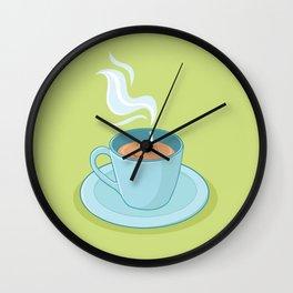 Hot Coffee, Not! Wall Clock