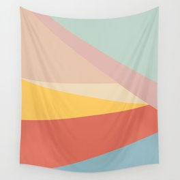 Retro Abstract Geometric Wall Tapestry