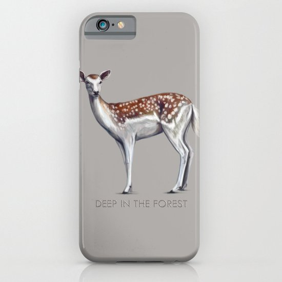 Deer in the forest iPhone & iPod Case