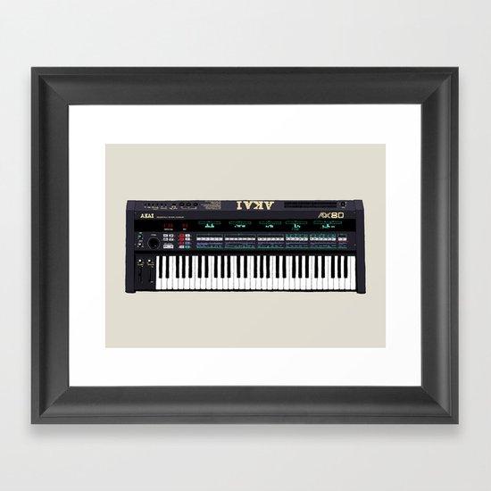 Akai AX80 Framed Art Print
