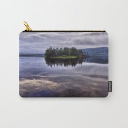 Lake of Two Rivers Carry-All Pouch