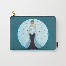 Art Deco Star Lady Carry-All Pouch