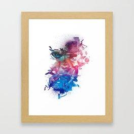 Merge. Framed Art Print