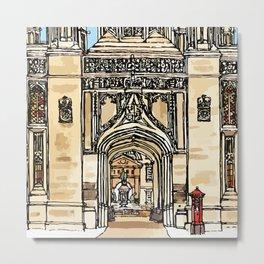 KINGS GATE Metal Print