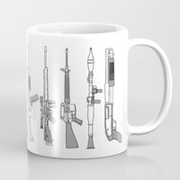 arsenal Mugs featuring Arsenal by bilvy