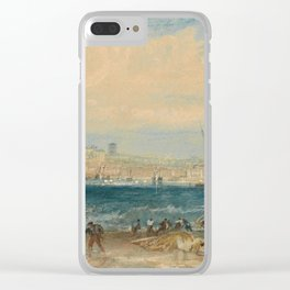"J.M.W. Turner ""Margate"" Clear iPhone Case"