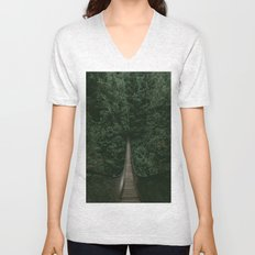 Into the Wilderness Unisex V-Neck
