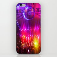 coachella iPhone & iPod Skins featuring Midnight City M83 Coachella by The Electric Blve / YenHsiang Liang