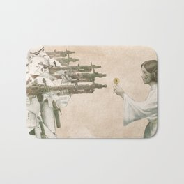 Flowers for Alderaan Bath Mat