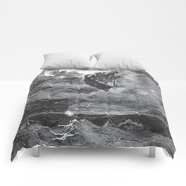 Gustave Dore: A Voyage To The Moon Comforters