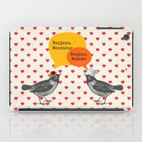 bonjour iPad Cases featuring Bonjour! by Sreetama Ray