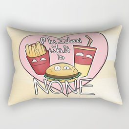 My Ideal Wait Rectangular Pillow