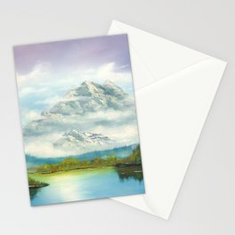 Mist In Mountains Stationery Cards
