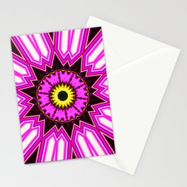 Abstract Paradise - Purple Arrow Stationery Cards