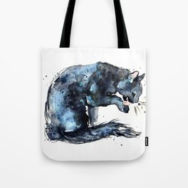 Cat series 2012: Midnight Blue  Tote Bag