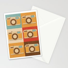 Retro Vintage Camera Gift Hipster Photography Gift Stationery Cards