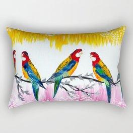 Conversations Rectangular Pillow