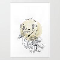 O C T O P U S - 01 Art Print